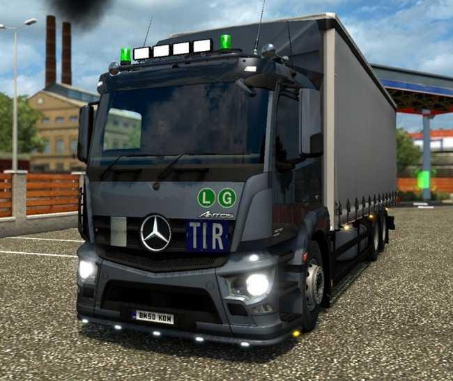 Mercedes Antos 12 V1 28 0 30s Ets2 Mods Euro Truck Simulator 2