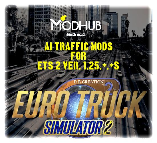 AI TRAFFIC (INTENSITY) MOD WITH REAL BEHAVIOR BY D B