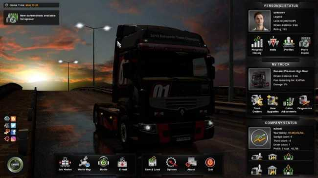 PROFILE XP & MONEY ALL VERSIONS | ETS2 mods | Euro truck