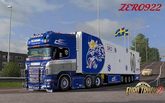 Schmitz Sko 4 Achs Scania Griffin Trailer V1 1 Ets2 Mods