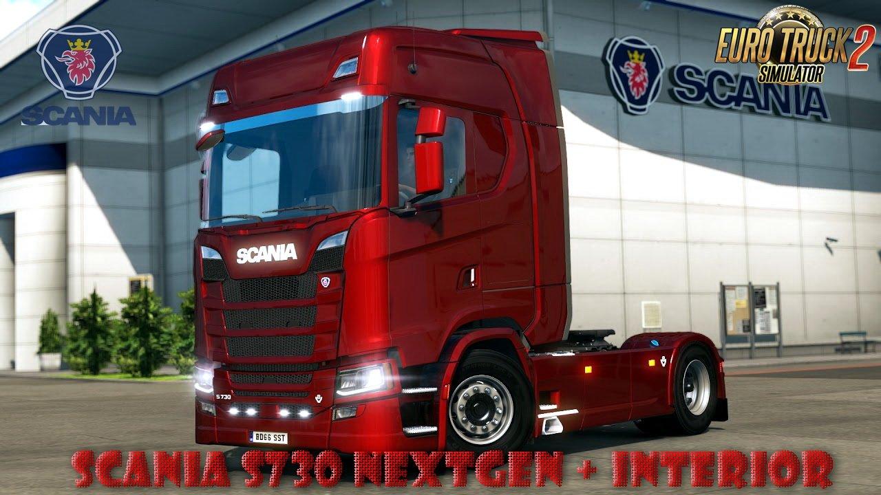 Custom Truck Headlights >> SCANIA NEXTGEN - S730 (upd. 29.09.17) [1.28.X] | ETS2 mods ...