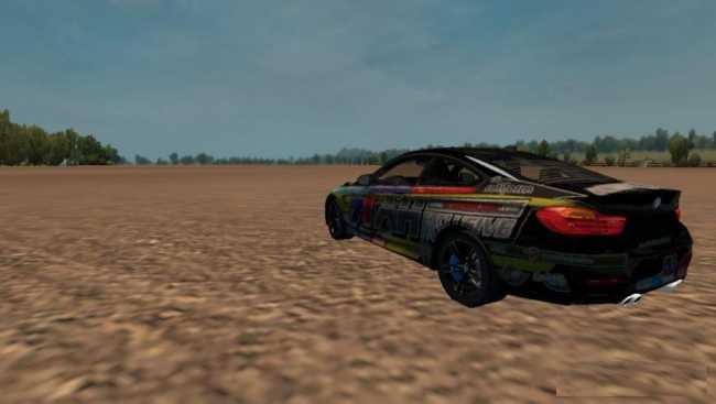 Mercedes Actros Mp4 v 1.4 mod for ETS 2