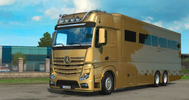 MERCEDES MP4 ACTROS MOTORHOME 128X