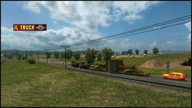 Safety Car V2 7 1 28 X Ets2 Mods Euro Truck Simulator 2 Mods
