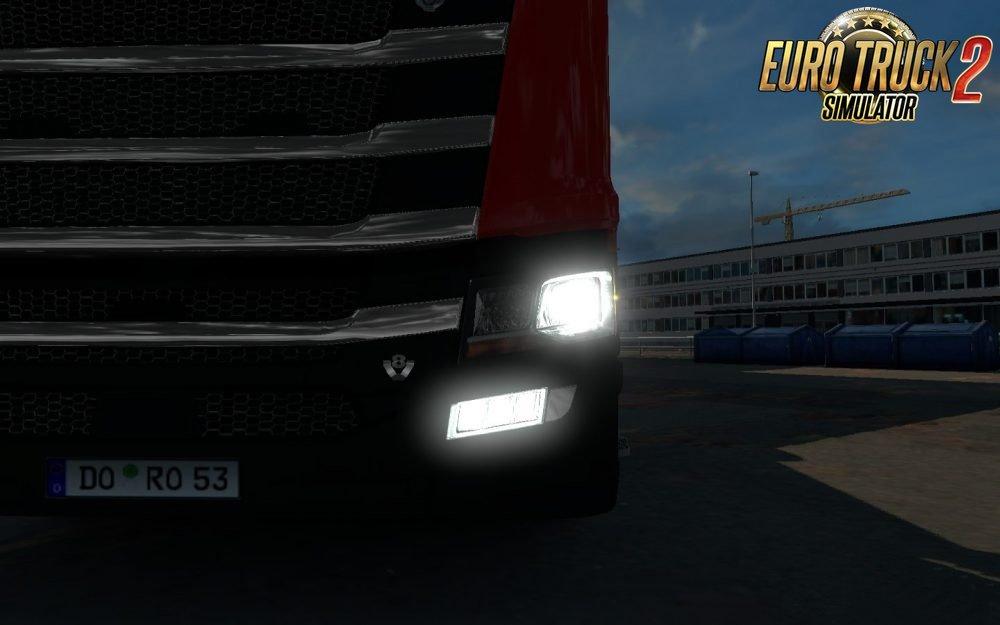 Krewlex Scania NextGen Foglights [1.28 - 1.30] | ETS2 mods | Euro truck simulator 2 mods ...
