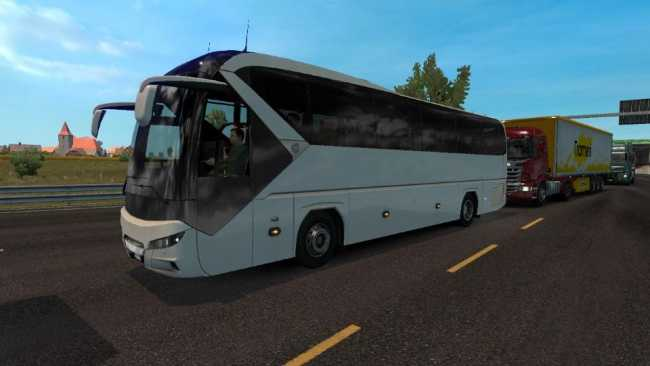 AI TRAFFIC NEOPLAN TOURLINER ACTIVATED 1 30 | ETS2 mods