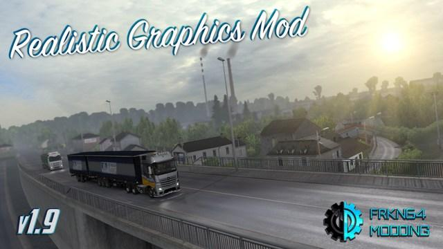 NEW REALISTIC GRAPHICS MOD V1 9 2 + ADDONS BY FRKN64 (1 30