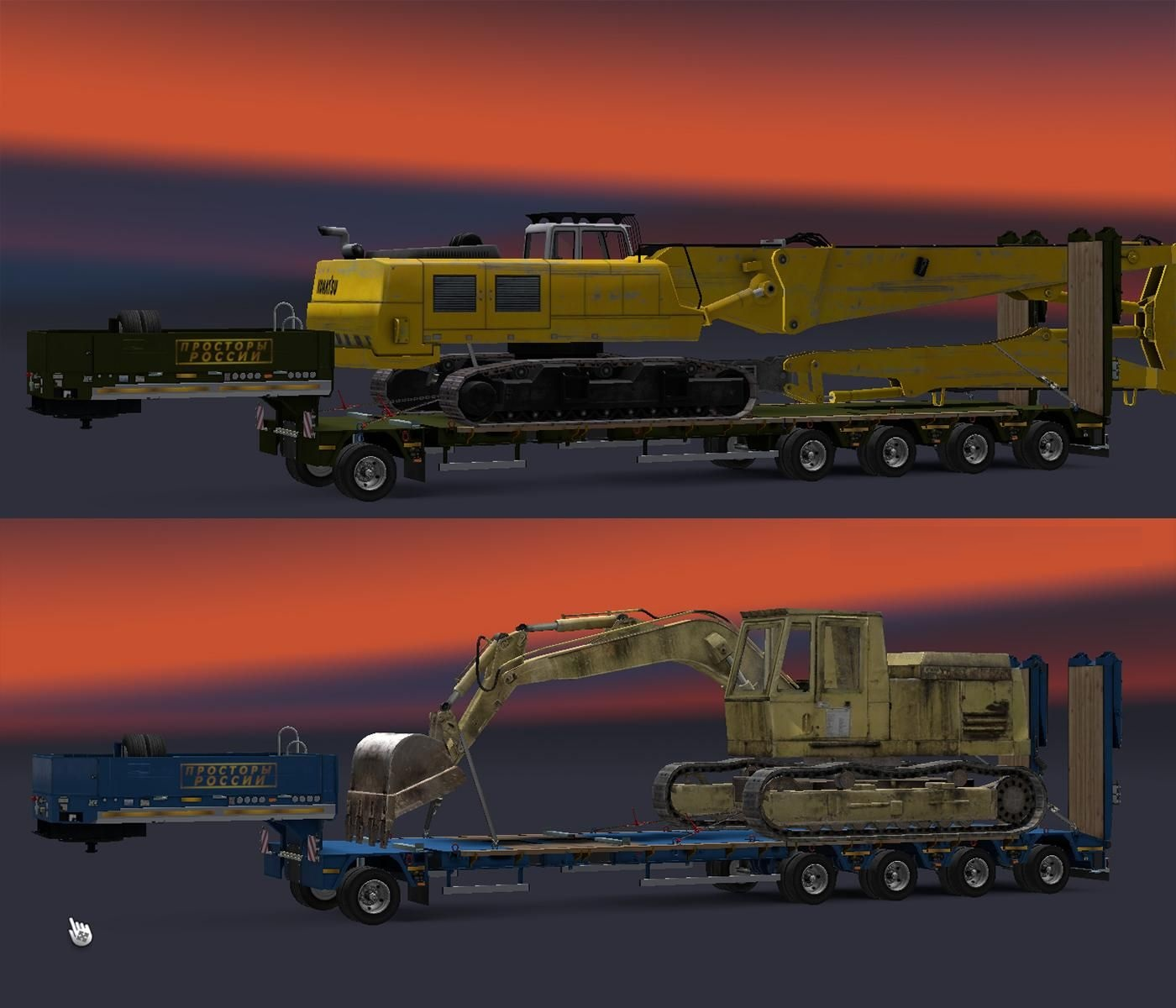 Heavy Cargo Pack For Russian Open Spaces 1 30 X Ets2