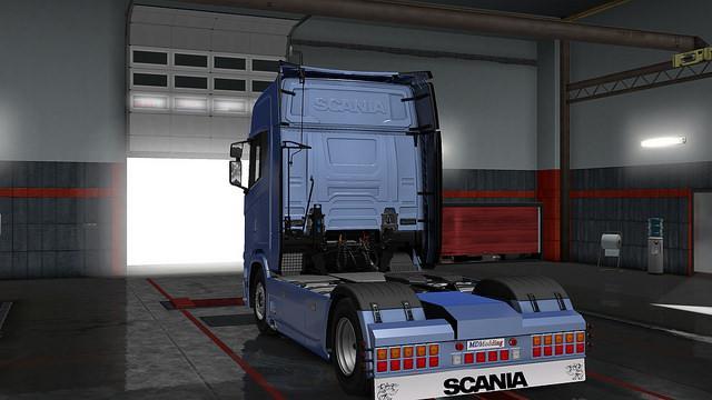 Rear Bumper Scania Next Gen V1 0 1 30 X Ets2 Mods