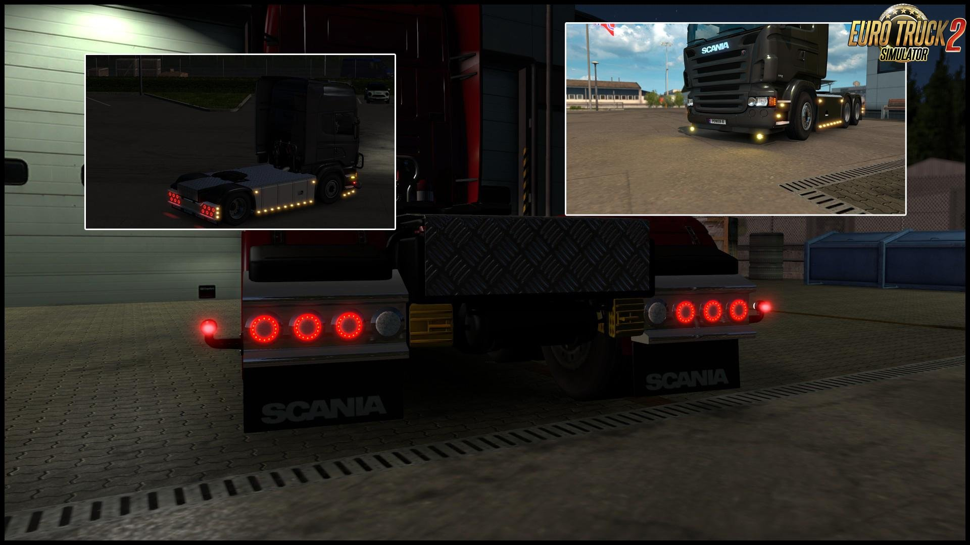 Volvo Truck Parts >> Light & Accessory Pack v1.3 (1.30.x) | ETS2 mods | Euro ...