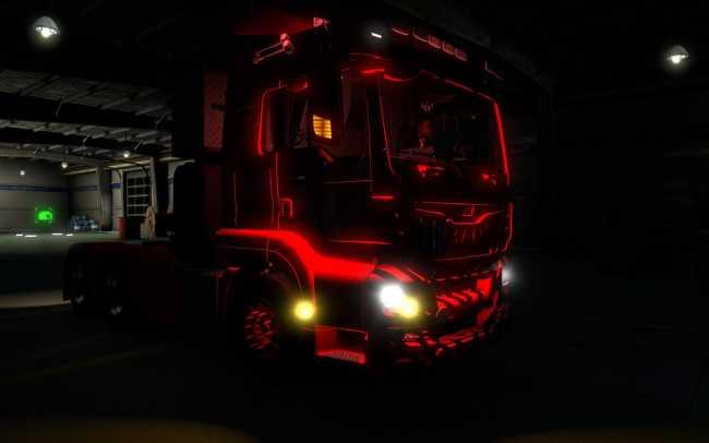 Aq Team Cabin Light 1 30 X Ets2 Mods Euro Truck