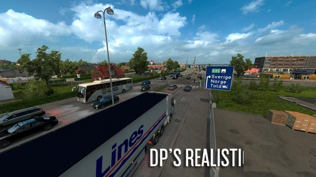 DP'S REALISTIC TRAFFIC V1 0 BETA | ETS2 mods | Euro truck simulator