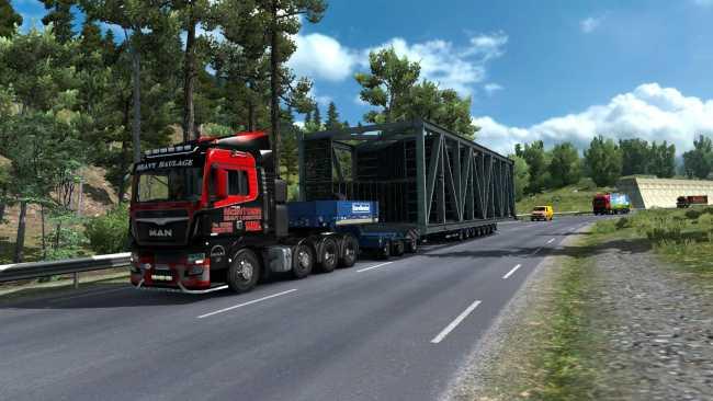 new routes for dlc special transport v1 0 ets2 mods. Black Bedroom Furniture Sets. Home Design Ideas