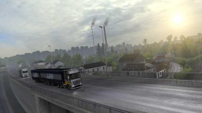 REALISTIC GRAPHICS MOD V2 0 2 1 30 | ETS2 mods | Euro truck