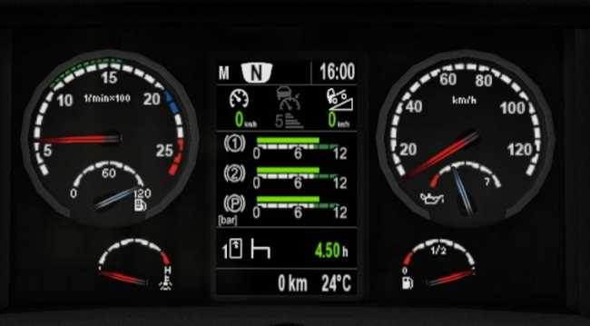 SCANIA DASHBOARD COMPUTER V3 9 7 FOR 1 30 | ETS2 mods | Euro truck