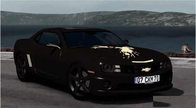 Enes Batur S Camaro V1 0 Ets2 Mods Euro Truck Simulator 2 Mods Ets2mods Lt