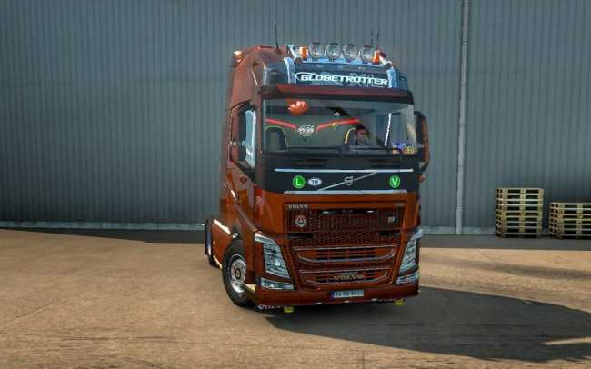 NEW VOLVO FH16 ACCESSORIES + INTERIOR V4 0 | ETS2 mods | Euro truck