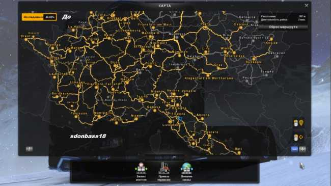 Study Maps For Euro Truck Simulator 2 V1 0 Ets2 Mods