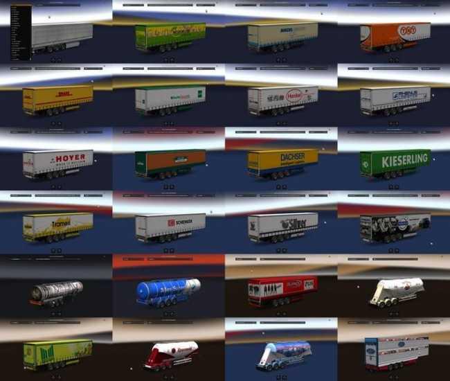 Rent Co: TRAILER PACK / BAYERN TRAILER V1.30