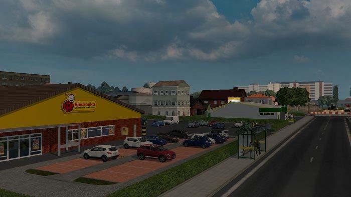 Lubartów v1.0 | ETS2 mods | Euro truck simulator 2 mods - ETS2MODS.LT