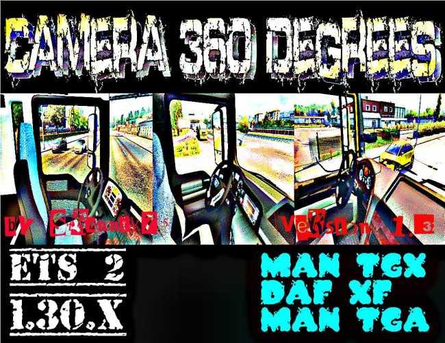 ETS2] CAMERA 360 DEGREES V1 3   ETS2 mods   Euro truck