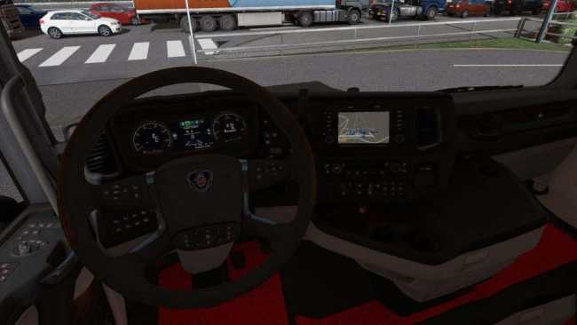 INTERIOR SCANIA S 2016 1.31 | ETS2 mods | Euro truck simulator 2 mods - ETS2MODS.LT