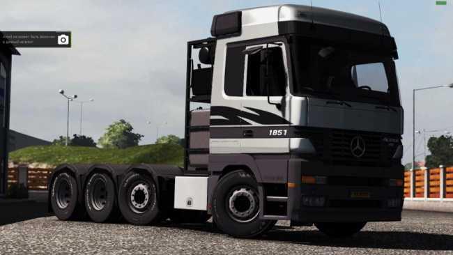 Mercedes Benz Actros Mp1 6x4 8x4 1 31 X Ets2 Mods Euro Truck