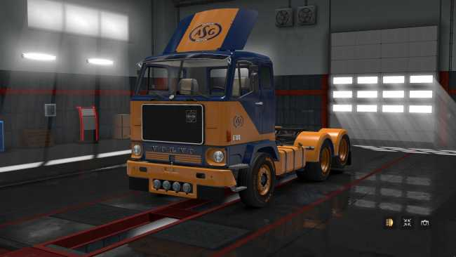 Volvo f88 by xbs v101 131 ets2 mods euro truck simulator 2 fixed windshield wipers and taillights standalone trucks publicscrutiny Images