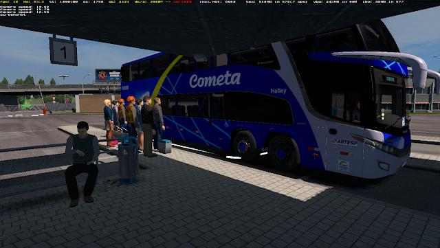 BUS STATION FOR ETS2 1 31 | ETS2 mods | Euro truck simulator