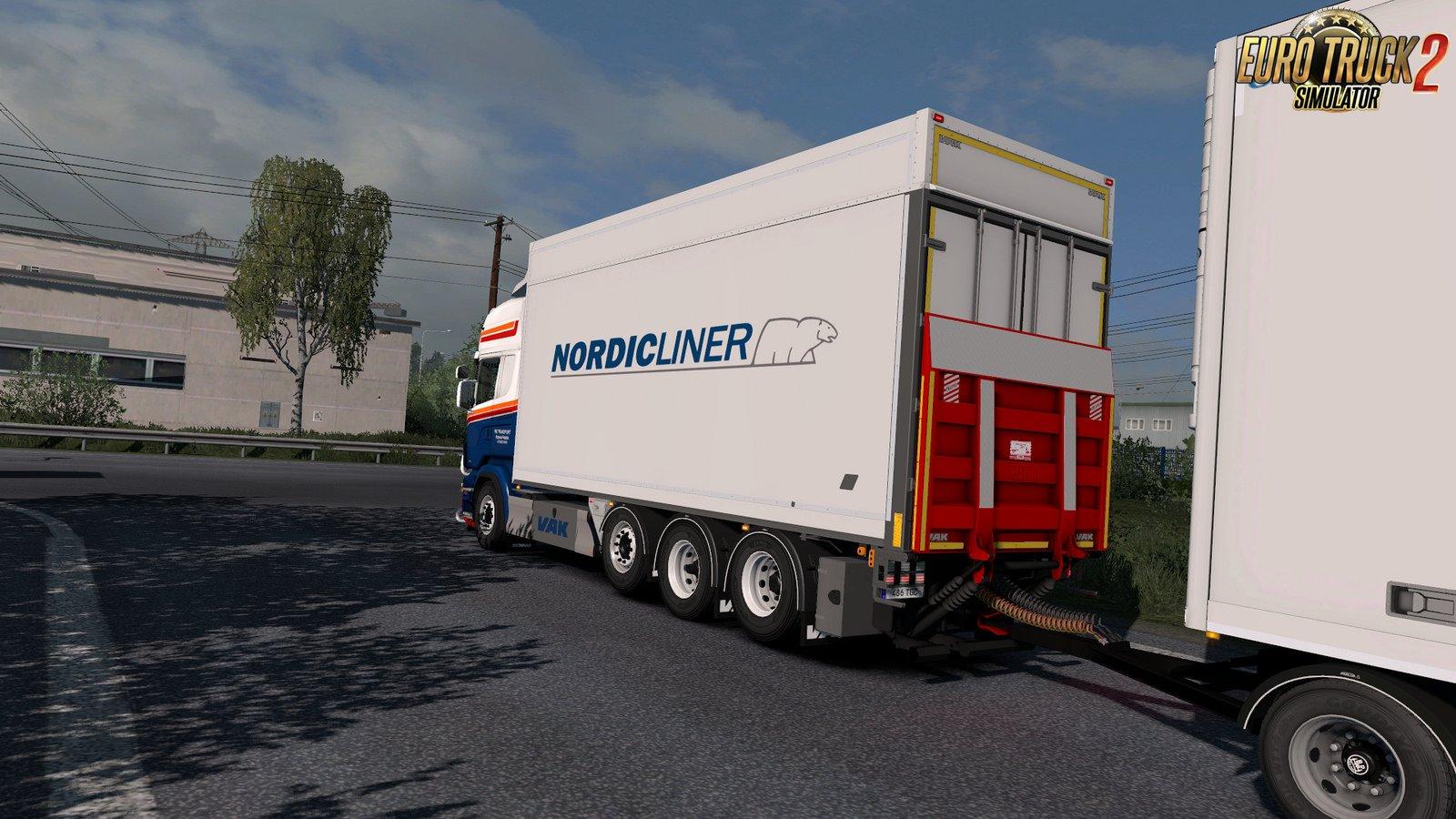 VAK Trailers + all Addons by Kast [1.31.x] | ETS2 mods | Euro truck simulator 2 mods - ETS2MODS.LT