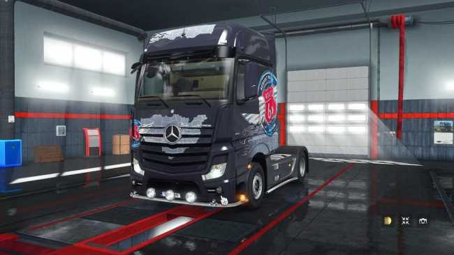 ets2 how to use extra lights