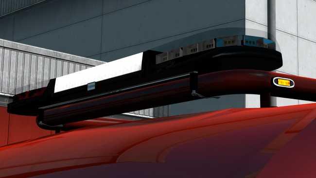 Volvo Truck Parts >> ECCO BEACON BARS ADD-ON FOR KELSA LIGHTBAR PACKS BY OBELIHNIO V1.1 | ETS2 mods | Euro truck ...
