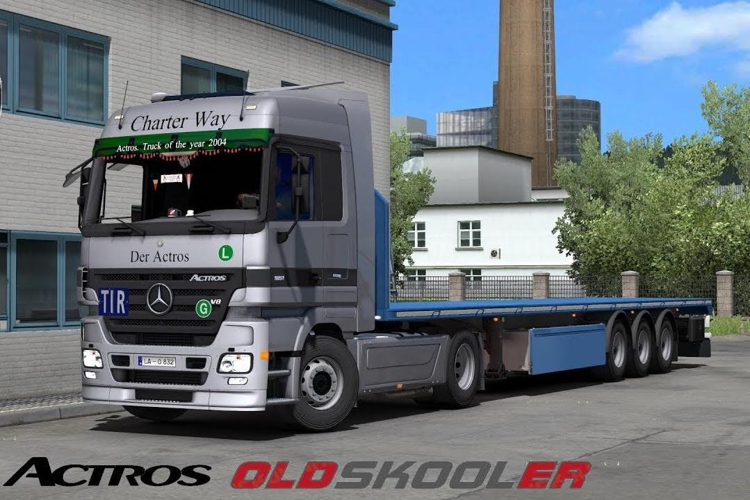 Volvo Truck Dealer >> Mercedes Actros MP2 + Dealer fix 1.32.x | ETS2 mods | Euro ...
