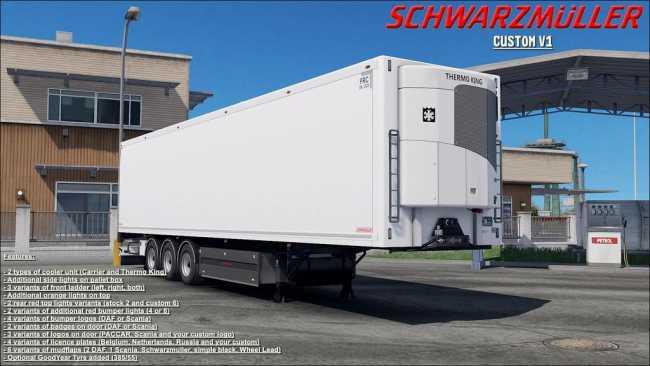 SCS SCHWARZMULLER REWORKED V1 1 1 32 X | ETS2 mods | Euro