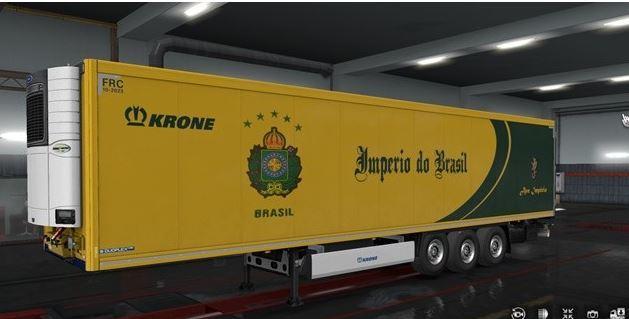TRAILER EMPIRE OF BRAZIL – KRONE 1 32 X   ETS2 mods   Euro truck