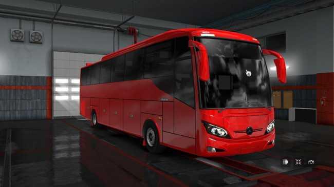 MAXIBUS UPDATED 1 32 X | ETS2 mods | Euro truck simulator 2