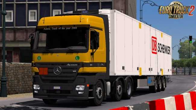 MERCEDES ACTROS MP2 AND MP3 SOUND BY LEEN | ETS2 mods | Euro