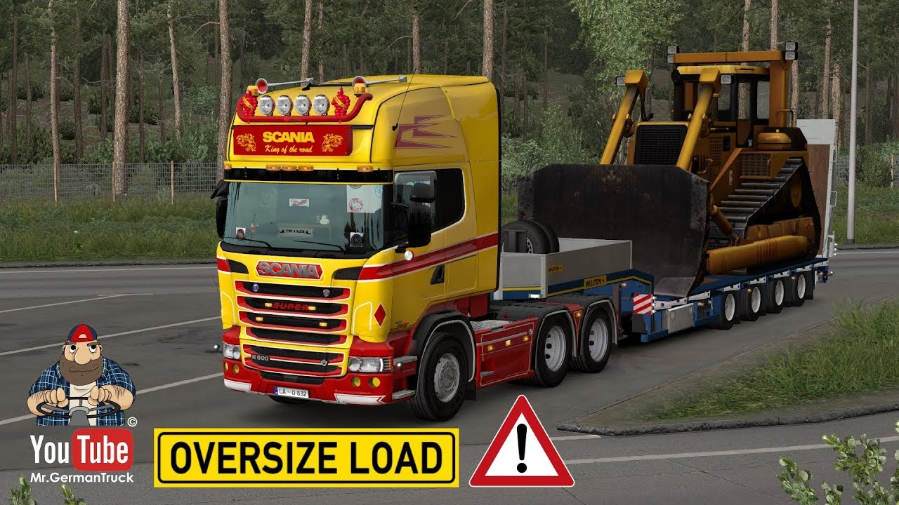 Volvo Truck Dealer >> Ownable Overweight Trailer Wielton NJ4 v1.0 [1.33 (ONLY ...