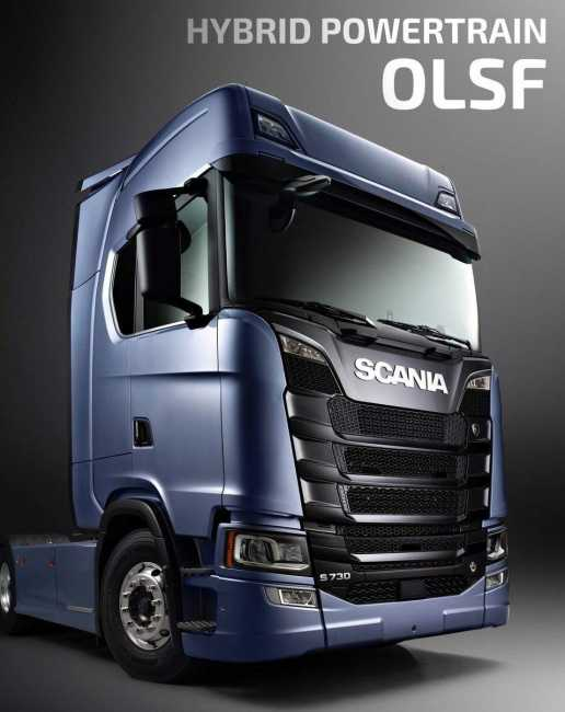 OLSF HYBRID POWERTRAIN V2 0 FOR SCANIA S 2016 | ETS2 mods