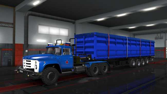 ZIL 130-131-133 FIXED V1 32 X   ETS2 mods   Euro truck