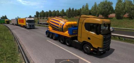 8952-bright-yellow-blue-concrete-mixer-in-traffic-ets2-1-33-x_1