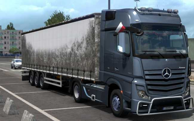 DIRT/GRUNGY OWNABLE STANDARD SCS TRAILERS 1 32 X-1 33 X | ETS2 mods