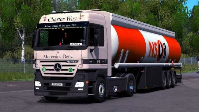 MERCEDES ACTROS MP2 AND MP3 SOUND UPDATE 1 33 X | ETS2 mods