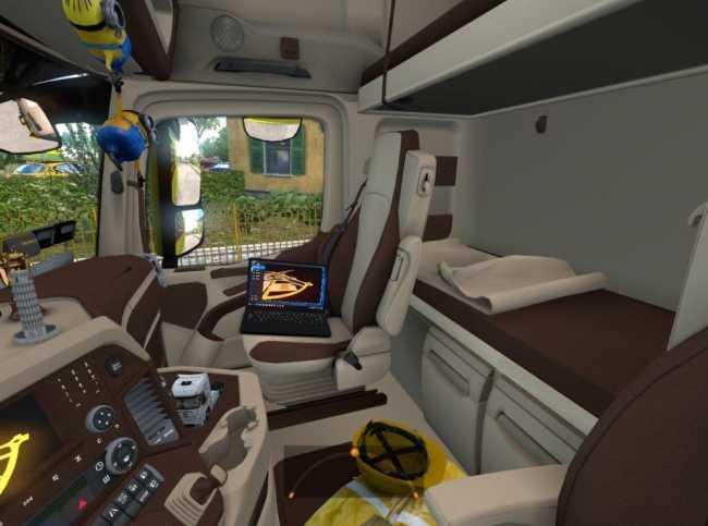 mercedes actros mp4 interior ets2 mods euro. Black Bedroom Furniture Sets. Home Design Ideas