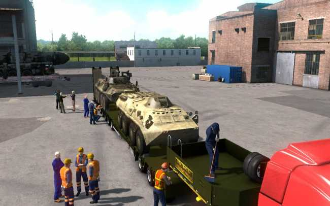 MILITARY OVERSIZED CARGO V1 0 FOR DLC BEYOND THE BALTIC SEA