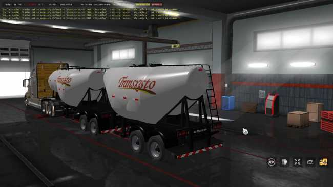CEMENT TRAILER OWNABLE 1 34 | ETS2 mods | Euro truck simulator 2
