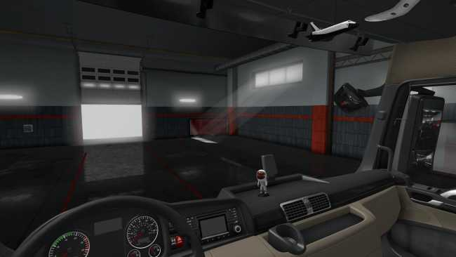 MAN EURO 6 SPACE INTERIOR DECORS FIX 1 34 | ETS2 mods | Euro truck