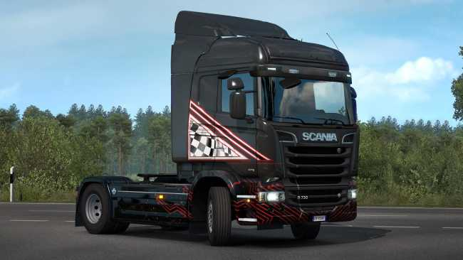ETS2 SCS WOT EVENT REWARD 1 34 X   ETS2 mods   Euro truck