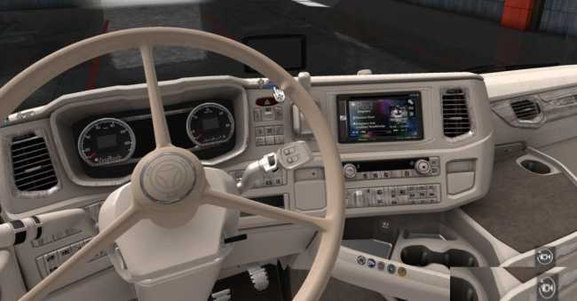 SPECIAL INTERIOR PWT THERMO FOR NEXTGEN 1 34 X | ETS2 mods