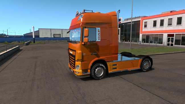 SKIN DOOM OF DAF EURO 6 1 34 X | ETS2 mods | Euro truck simulator 2